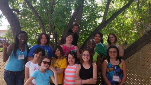 2015's Girl Power crew at the Women's Centre.